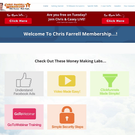 Is Chris Farrell membership a scam