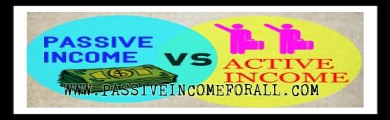 Passive Income vs Active Income