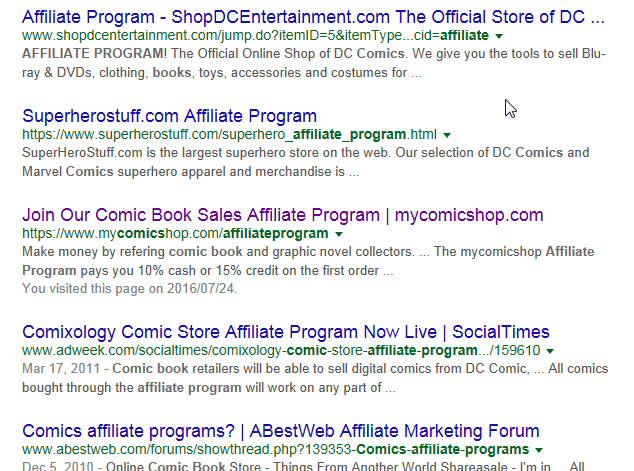 How to sell comic books online