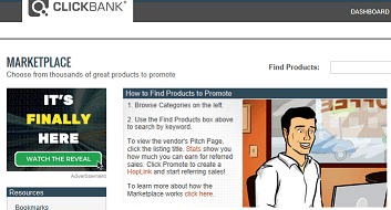 How does clickbank work