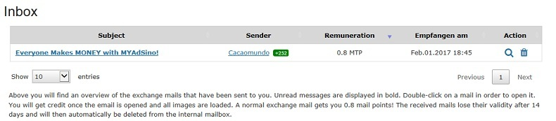 eBesucher Review - New mail from mail exchange