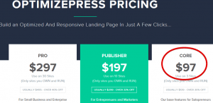 Optimize Press for Squeeze Page
