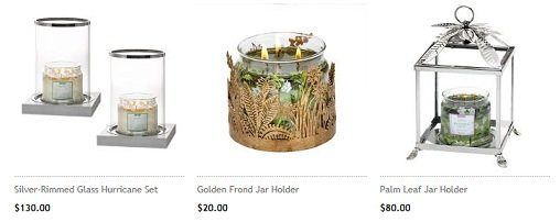 Partylite home decor products