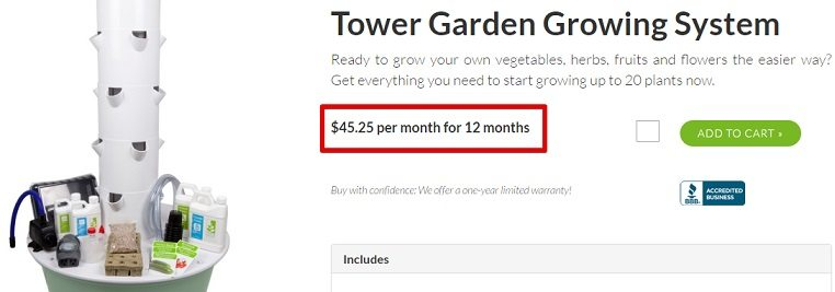 The Juice Plus Tower Garden System