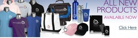 The talk fusion promotional items to purchase
