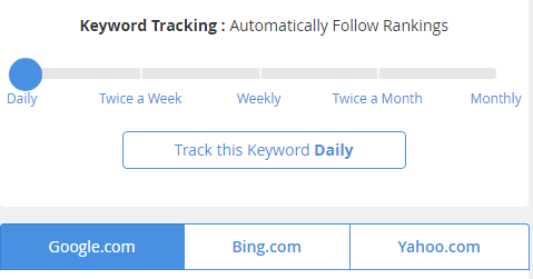 Jaaxy allows you to see where your keywords are ranked