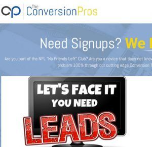 What is the Conversion pros all about