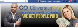 The conversion pros facebook page