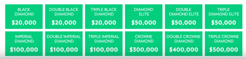 One time bonus of the Zija Compensation Plan