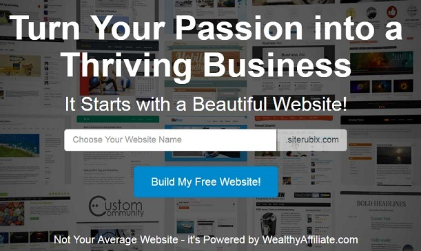 How to get two free website with Wealthy affiliate