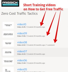 How to use free traffic sources for your website