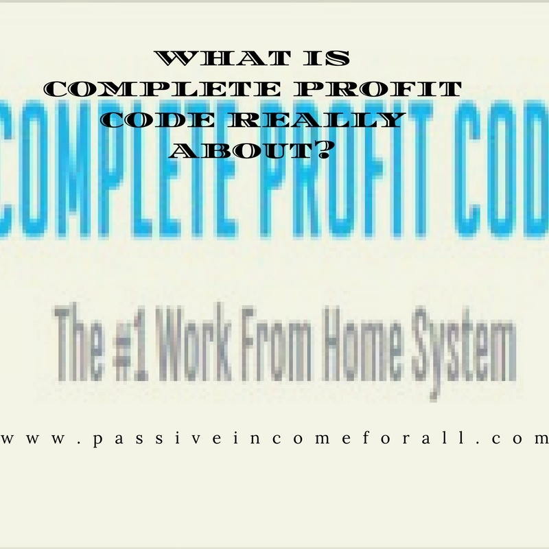 What is Complete Profit Code