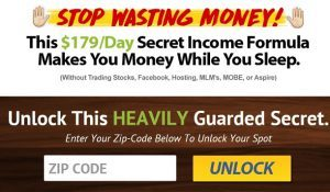 How does my Secret income formula work