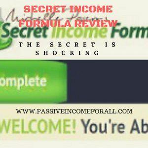 MY SECRET INCOME FORMULA REVIEW