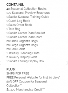 sabika jewelry training