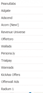 Offernation what is the offerwalls section all about
