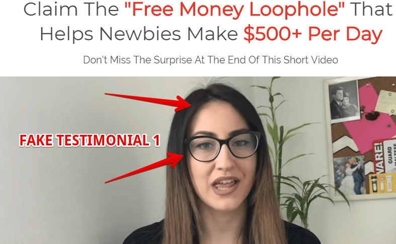 60 MINUTE PROFIT PLAN HAS FAKE TESTIMONIALS
