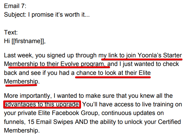 How does Yoonlas email automation account work