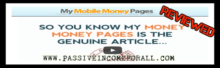 What is My Mobile Money Pages