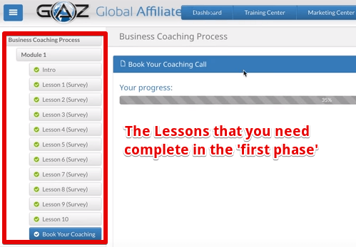 The coaching lessons of Global Affiliate Zone