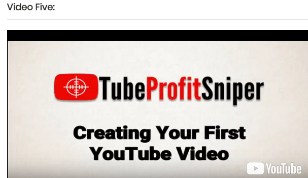 Is tube profit sniper a scam how to create your first youtube video