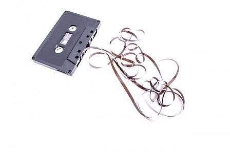 Music in the 80's were recorded onto cassettes