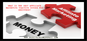 What is the best affiliate marketing training course for beginners