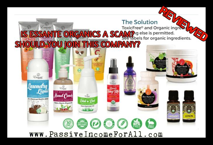 Is Essante Organics a scam