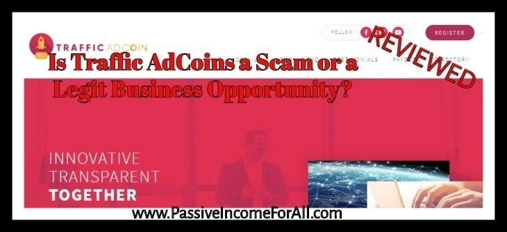 Traffic AdCoins Review, is Traffic Adcoins a Scam