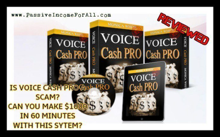 Voice Cash Pro Review Is Voice Cash Pro a Scam