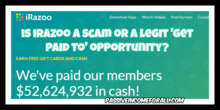 iRazoo Review scam or legit opportunity