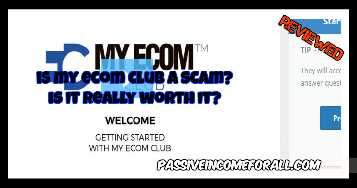Is My ECOM cLUB A SCAM