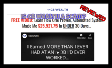 CB Wealth Review is cb wealth a scam