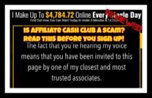 affiliate cash club review is affiliate cash club a scam