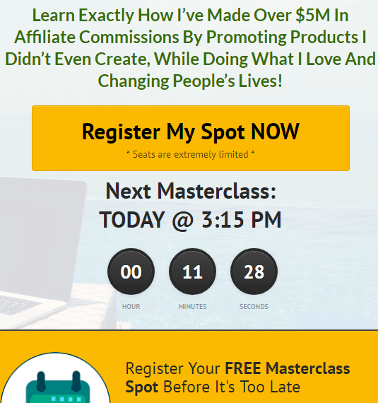 Is Affiliate Marketing Mastery a scam, what is the masterclass all about