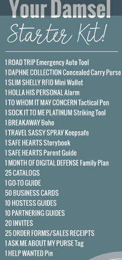 damsel in defense starter kit