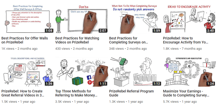 Is Prizerebel a scam training videos
