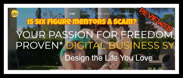 Is six Figure mentors a scam