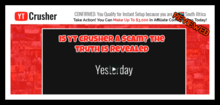 YT Crusher review is YT Crusher a scam