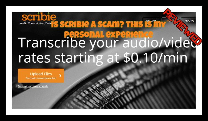 is Scribie a scam featured image