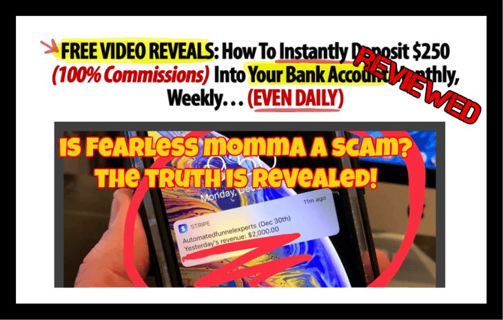 Is Fearless Momma a scam featured image