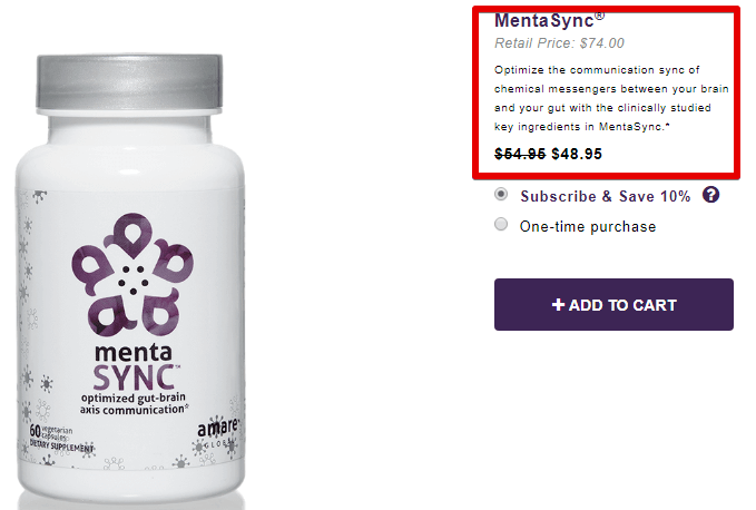 Amare global review mentasync products