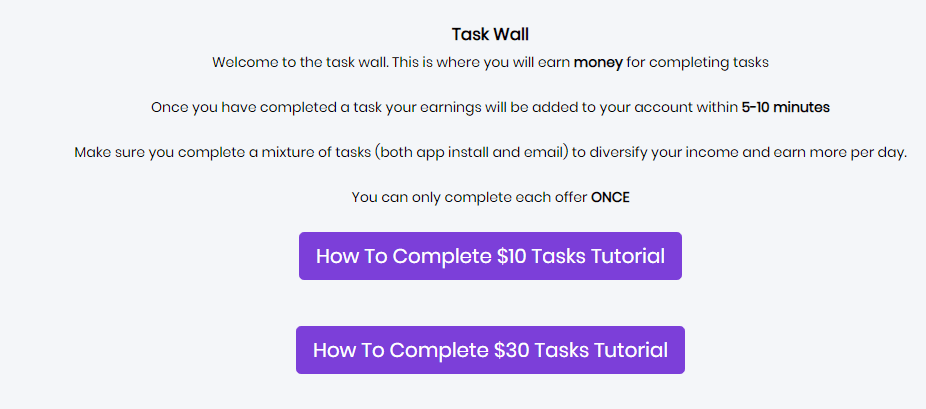 Swagpay.co review- how does the tasks on swagpay work