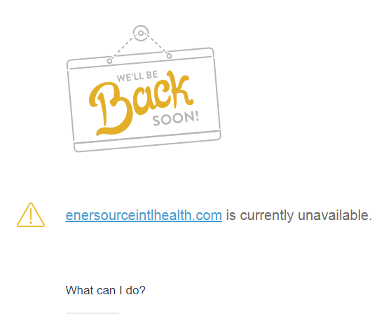 Enersource international review the enersource website was down
