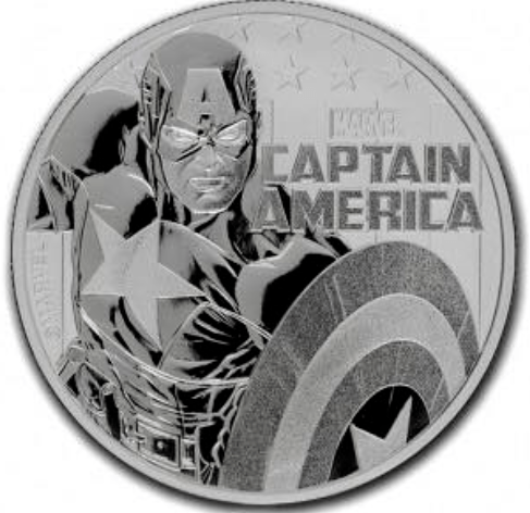 7K Metals marvel variety coins