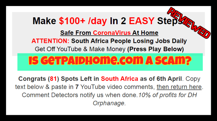 GetPaidHome.com featured image