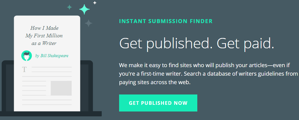 Writers.work instant submission finder tool