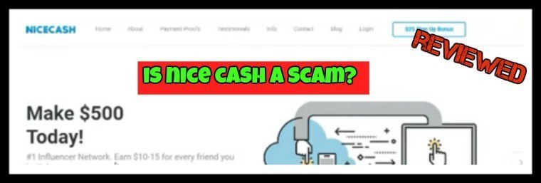 Is Nice Cash a scam featured image