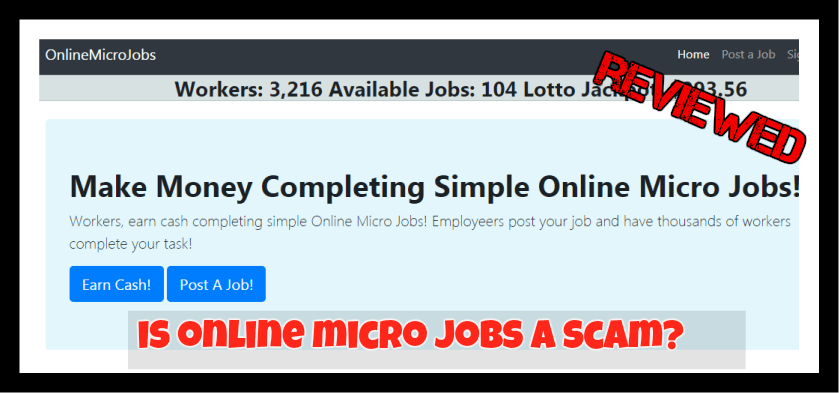 This is the Online MICROjOBS FEATURED IMAGE