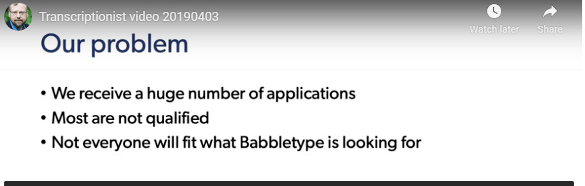 Is Babbletype a scam my personal opiniony persoa